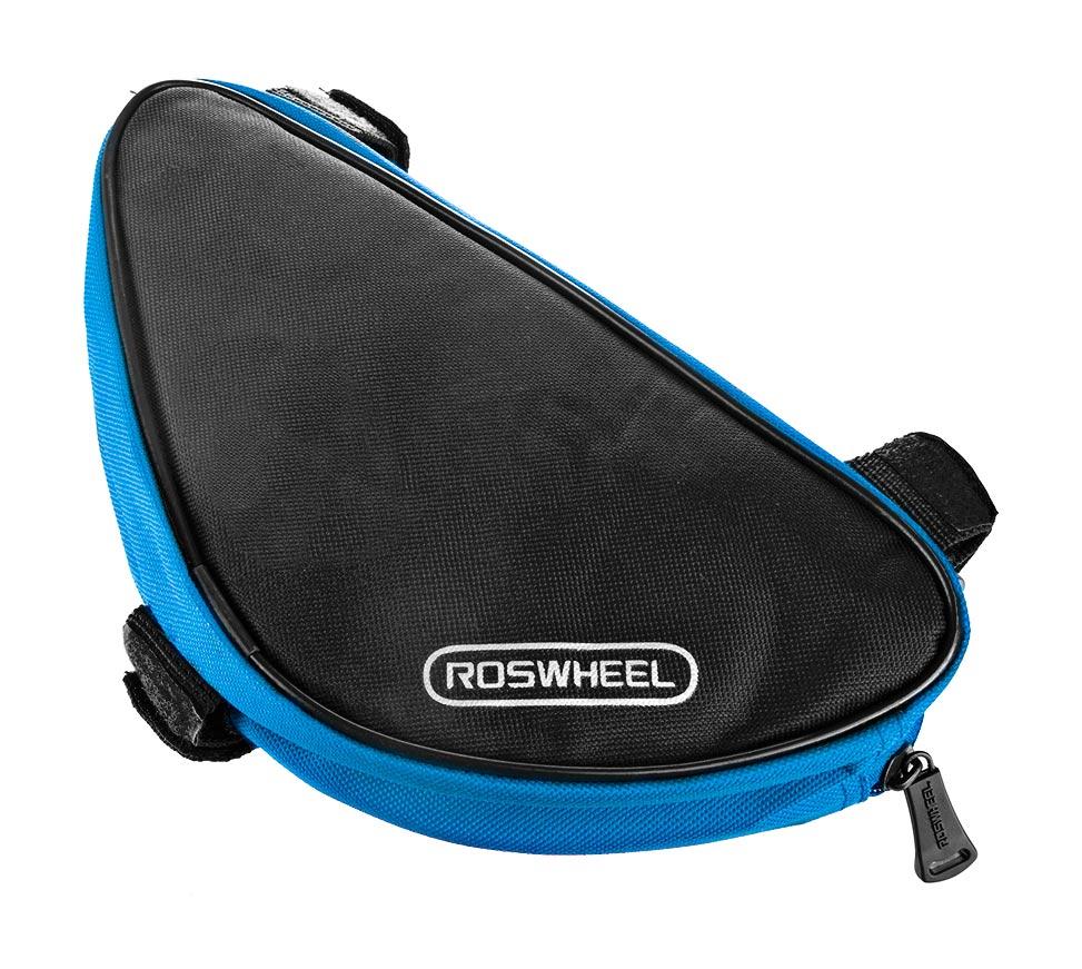 ROSWHEEL Τσάντα για σκελετό ποδηλάτου, Black/Blue - ROSWHEEL 15787