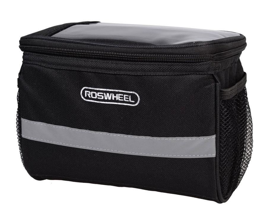 ROSWHEEL Τσάντα για τιμόνι ποδηλάτου, Αδιάβροχη, 3.5L, Black - ROSWHEEL 15790