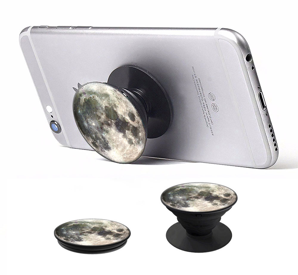 Pop mobile stand & holder με βάση αυτοκινήτου, Moon - UNBRANDED 15818