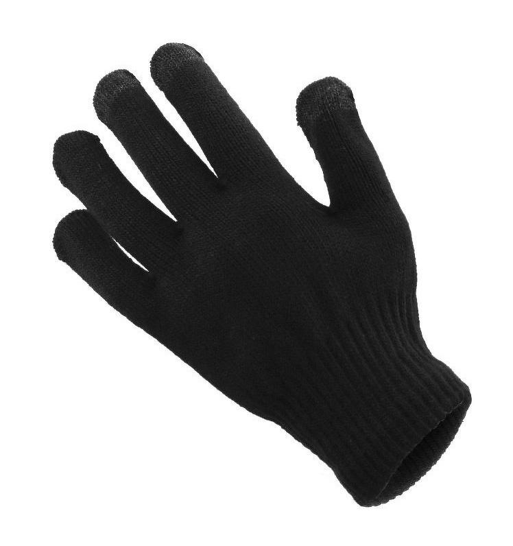 Γάντια για Touch Screen, Ανδρικά, Black - UNBRANDED 16937