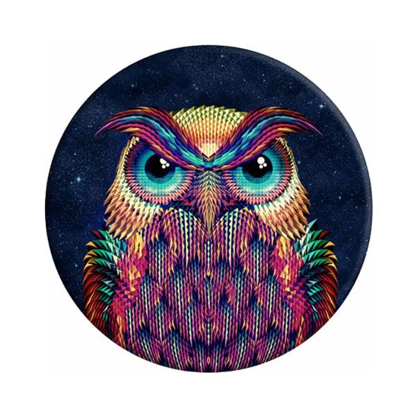 Sticky Pad για smartphone, πολλαπλών χρήσεων, Owl - UNBRANDED 17399