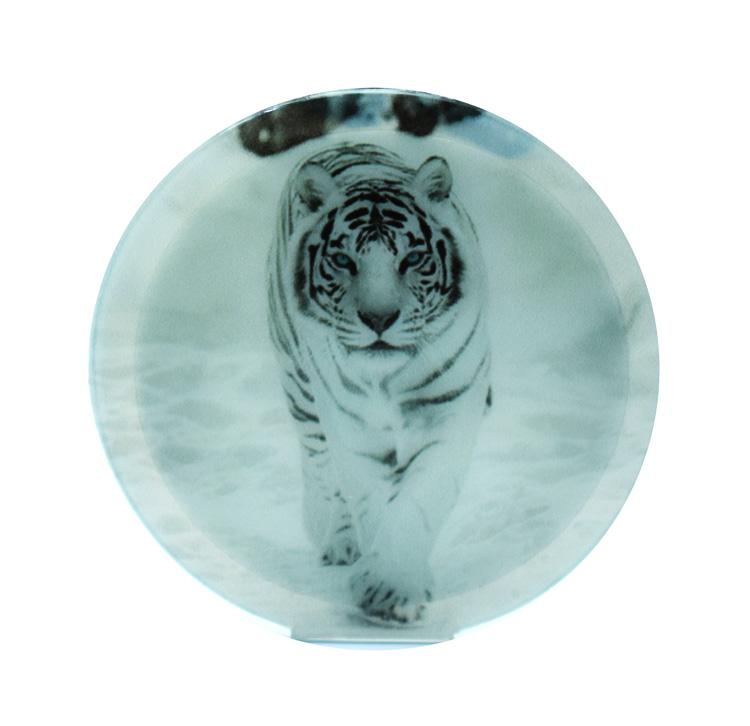 Sticky Pad για smartphone, πολλαπλών χρήσεων, White tiger - UNBRANDED 17402