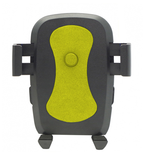 "Universal Βάση αυτοκινήτου C1 για Smartphone έως 6"", μαύρη-κίτρινη - UNBRANDED 18196"