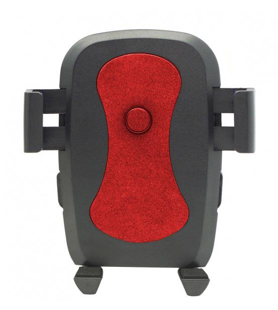 "Universal Βάση αυτοκινήτου C1 για Smartphone έως 6"", μαύρη-κόκκινη - UNBRANDED 18197"