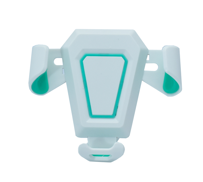 """Βάση αεραγωγού αυτοκινήτου MV2 για Smartphone έως 6"""", λευκή-πράσινη - UNBRANDED 18219"""