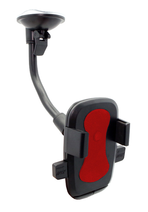 "Universal Βάση αυτοκινήτου N2 Click για Smartphone 6"", κόκκινη - UNBRANDED 18205"
