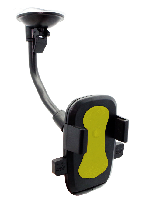 "Universal Βάση αυτοκινήτου N2 Click για Smartphone 6"", κίτρινη - UNBRANDED 18206"