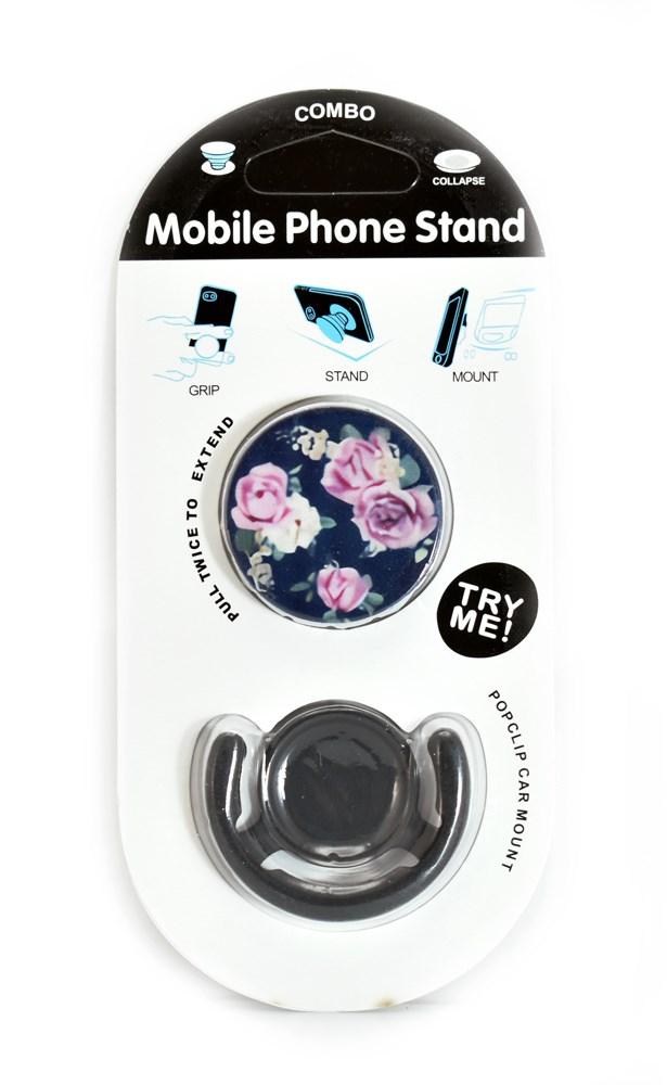 Pop mobile stand & holder με βάση αυτοκινήτου, Roses 2 - UNBRANDED 21692