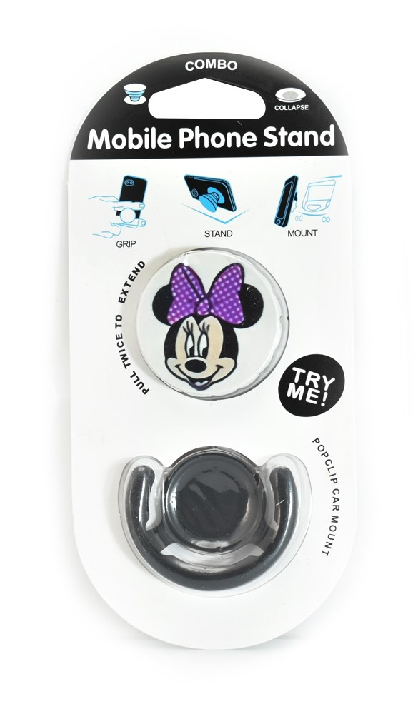 Pop mobile stand & holder με βάση αυτοκινήτου, Minnie mouse - UNBRANDED 21694