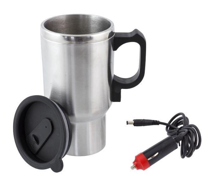 Ηλεκτρικός Θερμός AG461, 400ml, 12V, μαύρο-ασημί - UNBRANDED 22040
