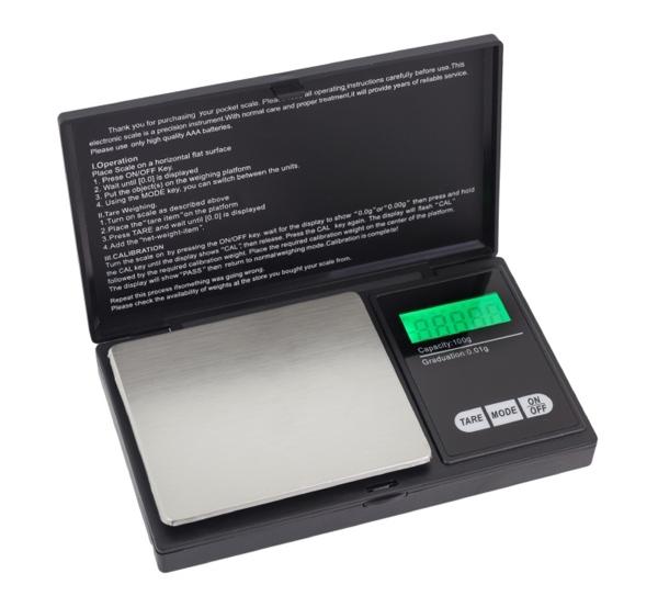 Μίνι ζυγαριά ακριβείας AG52E, 0.01 έως 100gr, LCD οθόνη, μαύρη-ασημί - UNBRANDED 43442