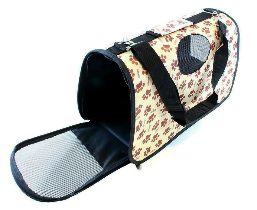 Τσάντα μεταφοράς για κατοικίδια AG644C, 45 x 20 x 27cm - UNBRANDED 28505