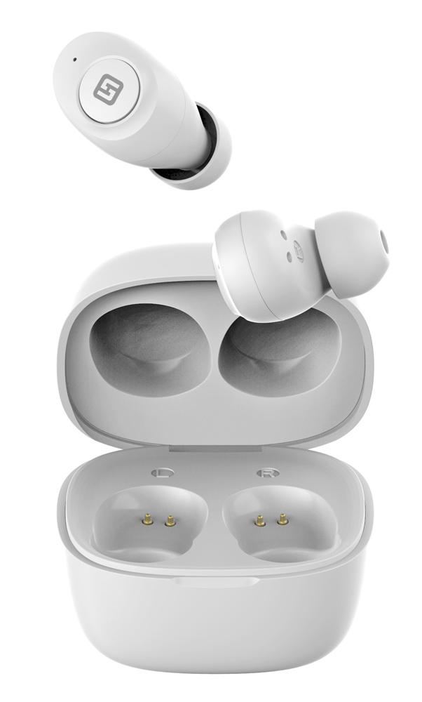 HIFUTURE earphones AirBuds, true wireless, με θήκη φόρτισης, λευκά - HIFUTURE 28555