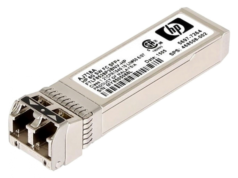 HP used StorageWorks 8Gb Short Wave Fibre Channel SFP AJ718A - HP 27730