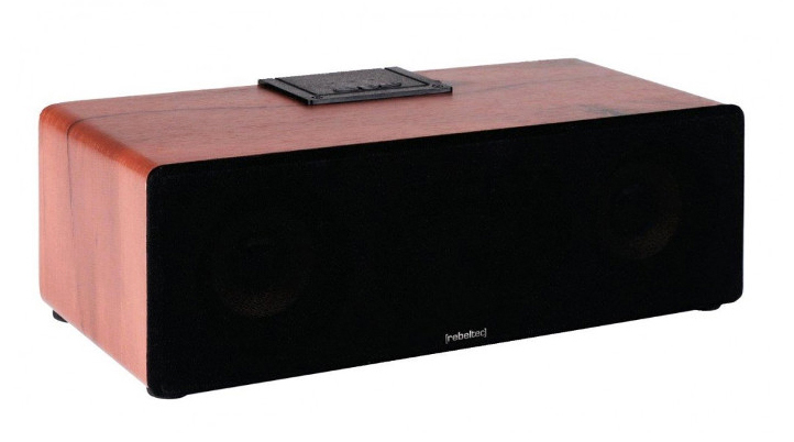 REBELTEC Bluetooth Speaker AMBIENT, 12W, 18650 Removable battery, Wooden - REBELTEC 14614