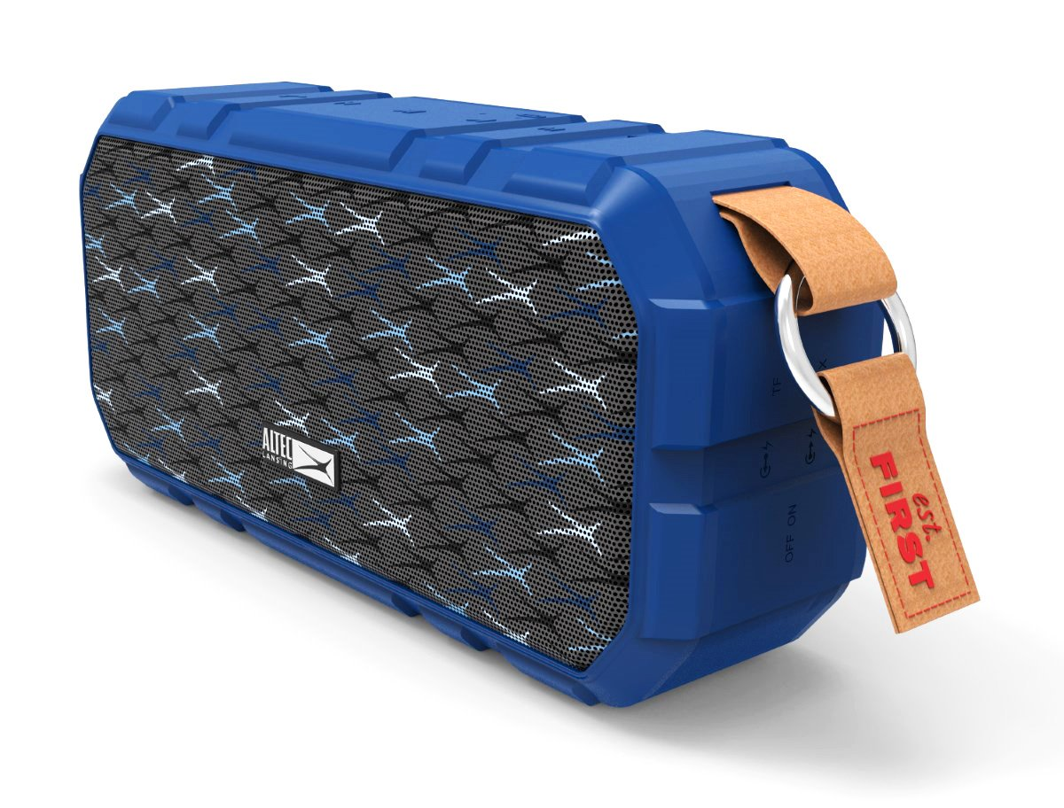 ALTEC LANSING φορητό ηχείο X-Wild 10W, αδιάβροχο, power bank, μπλε - ALTEC 21755