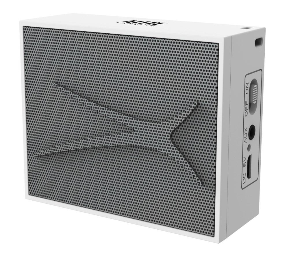 ALTEC LANSING φορητό ηχείο Pocket Urban Sound, 2W, Aux, λευκό - ALTEC 21750