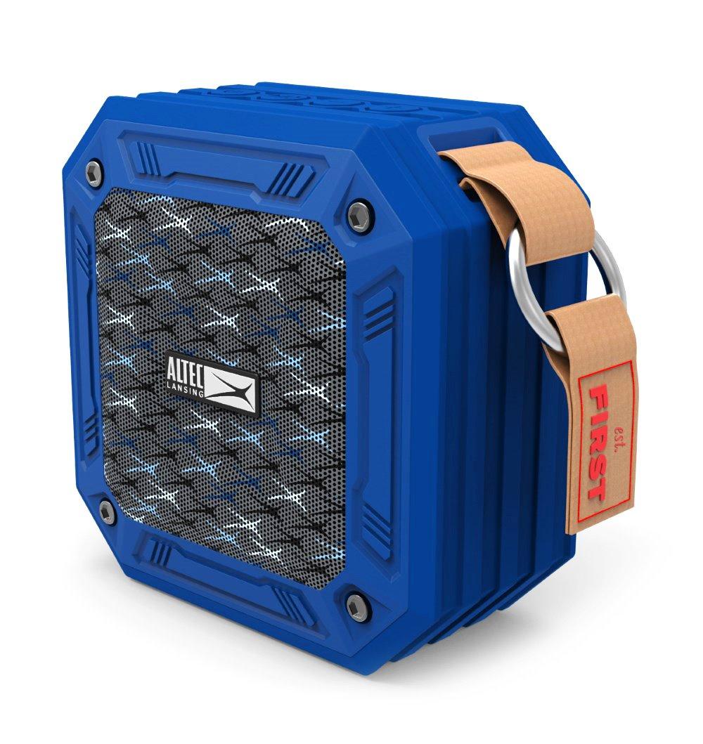ALTEC LANSING φορητό ηχείο Wild, αδιάβροχο IP67/αντικραδασμικό, BT, μπλε - ALTEC 21751