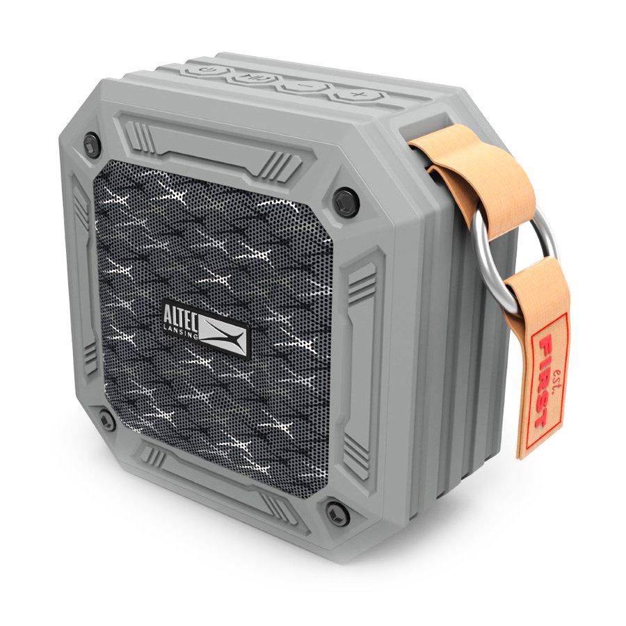 ALTEC LANSING φορητό ηχείο Wild, αδιάβροχο IP67/αντικραδασμικό, BT, γκρι - ALTEC 21770