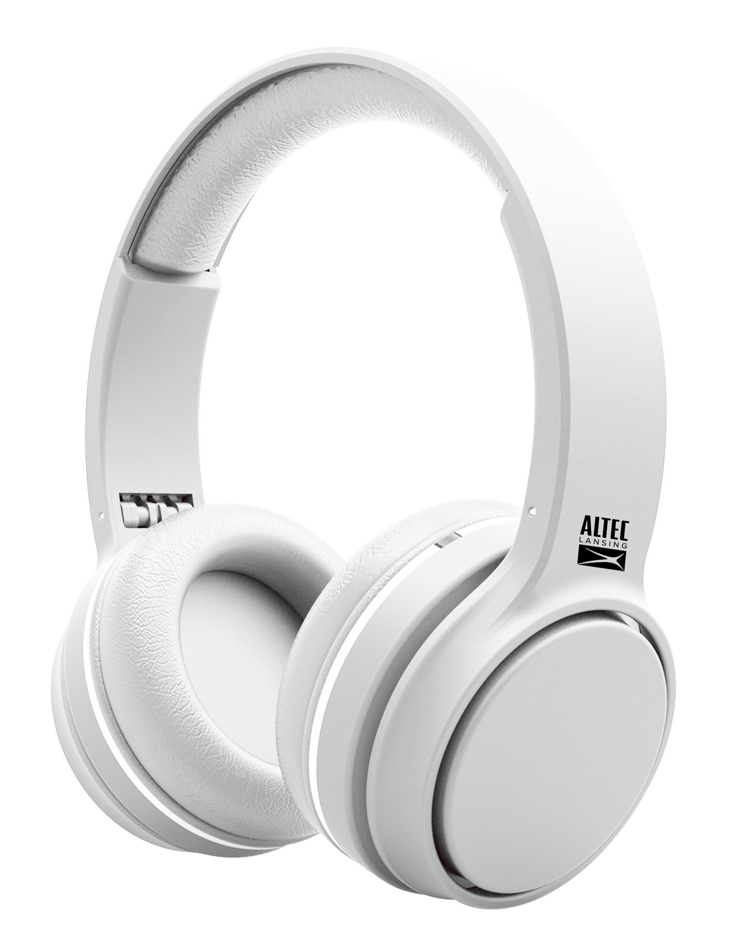 ALTEC LANSING headphones Ring, ενσύρματα, 110dB, 40mm, λευκά - ALTEC 21742