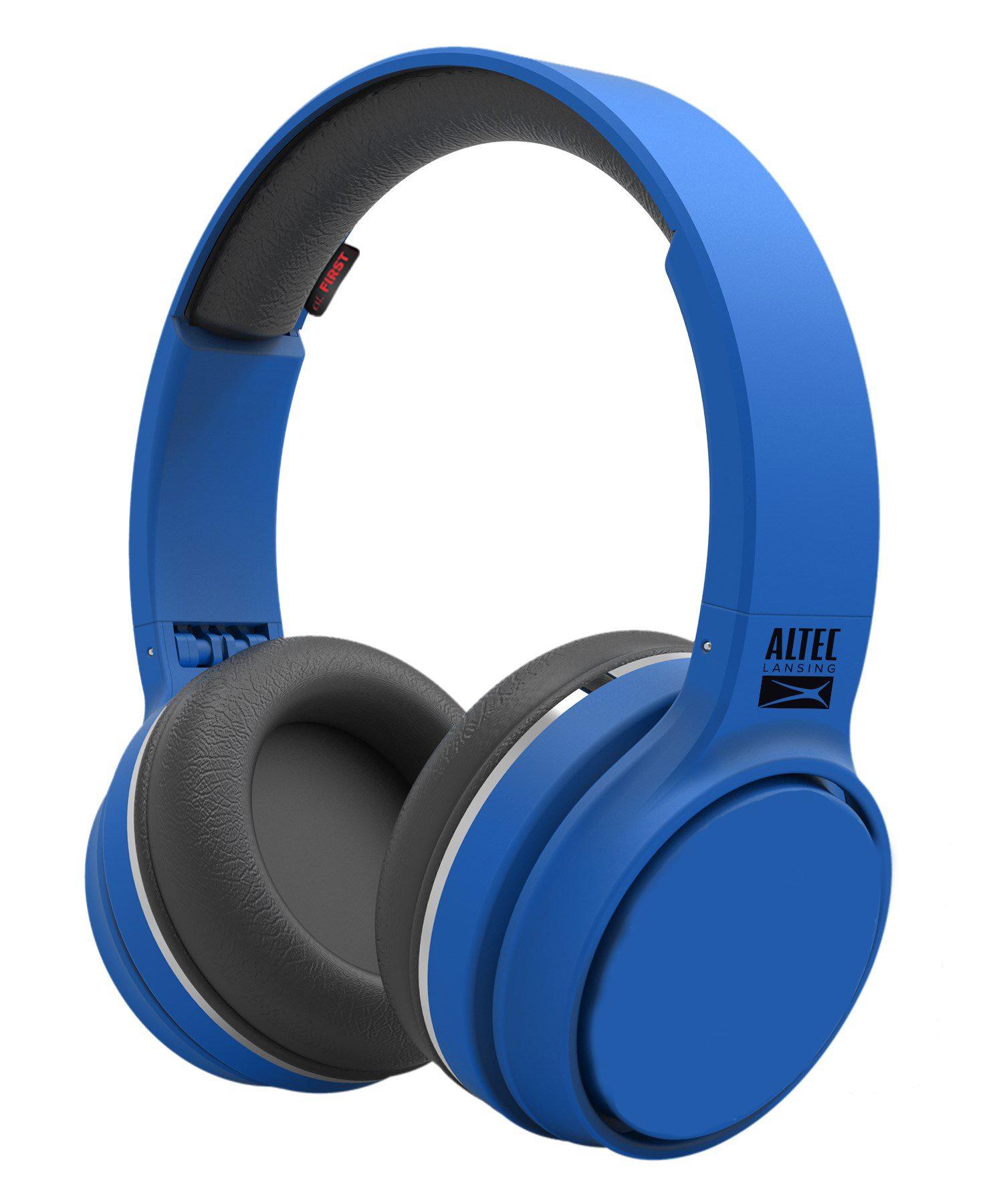 ALTEC LANSING bluetooth headphones Ring 'n' Go, 110dB, 40mm, μπλε - ALTEC 21743