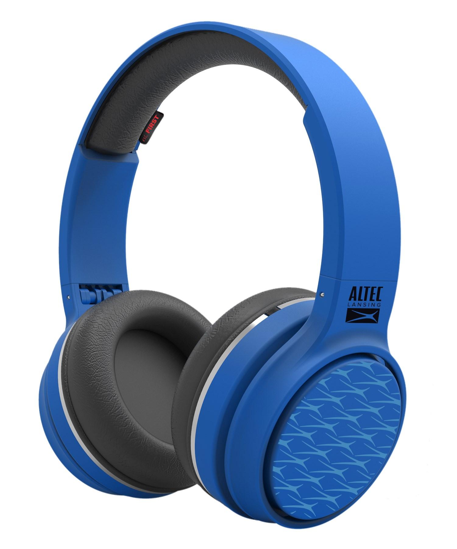 ALTEC LANSING bluetooth headphones Ring 'n' Go play & party, μπλε - ALTEC 21746
