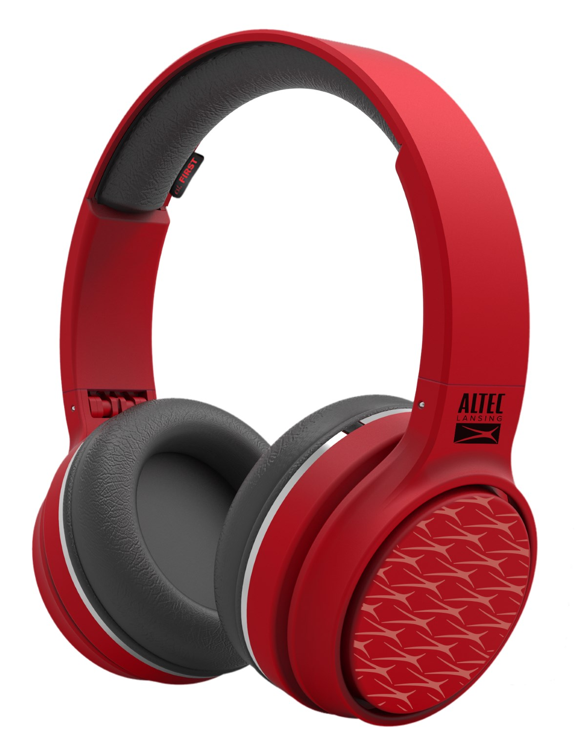 ALTEC LANSING bluetooth headphones Ring 'n' Go play & party, κόκκινα - ALTEC 21744
