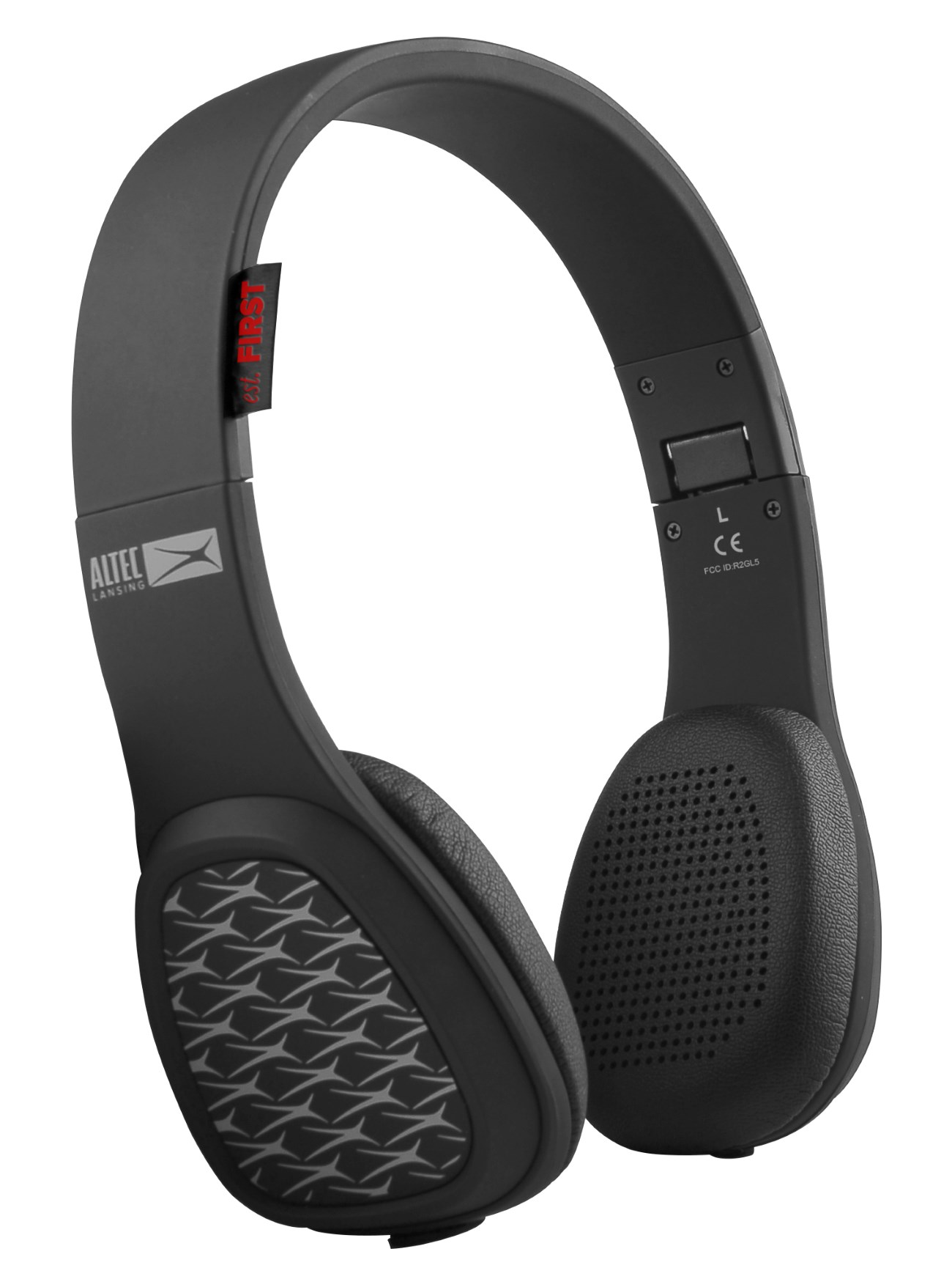 ALTEC LANSING bluetooth headphones Avenue play & party, 115dB, Touch, BK - ALTEC 21747