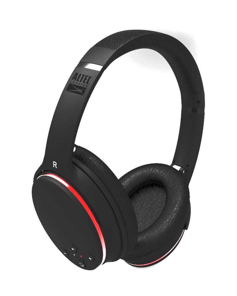 ALTEC LANSING Bluetooth headphones Slim, Noise Cancellation, μαύρα - ALTEC 21771
