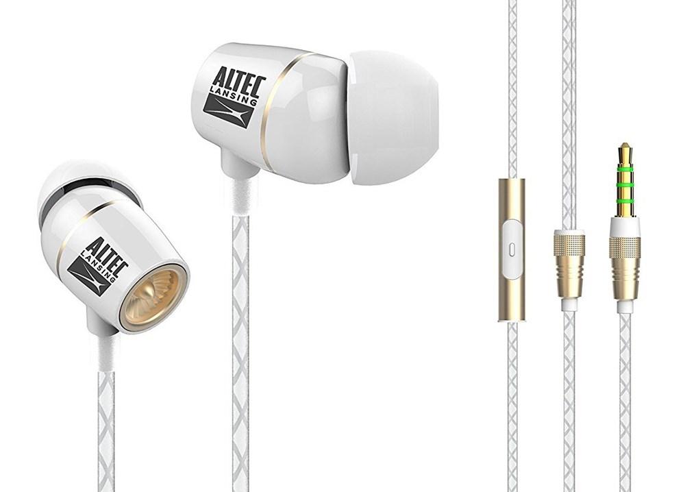ALTEC LANSING Earphones French Touch, 3.5mm, 92db, 1.2m, ceramic, λευκά - ALTEC 22947
