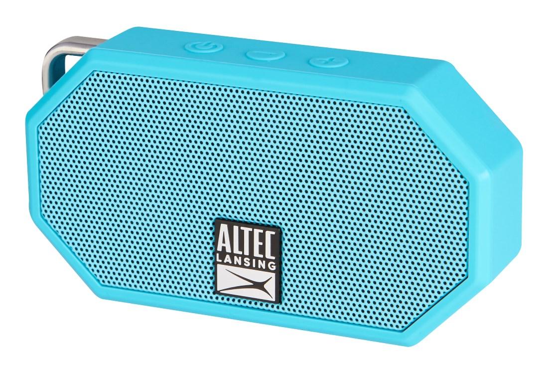 ALTEC LANSING φορητό ηχείο Mini H2O, IP67, με γάντζο, γαλάζιο - ALTEC 21763