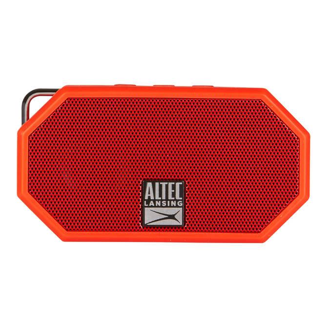 ALTEC LANSING φορητό ηχείο Mini H2O, IP67, με γάντζο, κόκκινο - ALTEC 21764