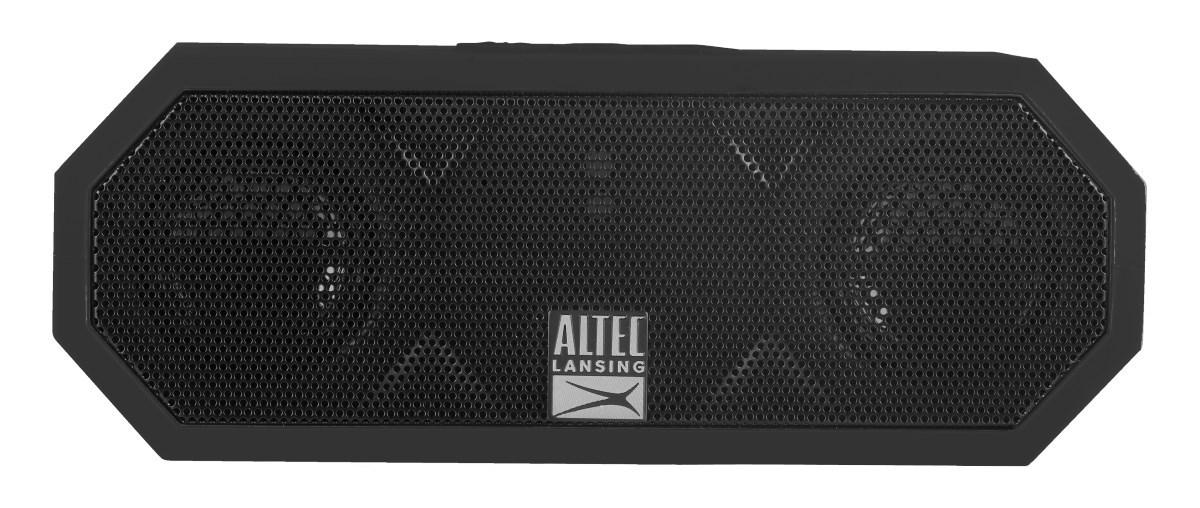 ALTEC LANSING φορητό ηχείο Jacket H2O, IP67, αντικραδασμικό, μαύρο - ALTEC 21766
