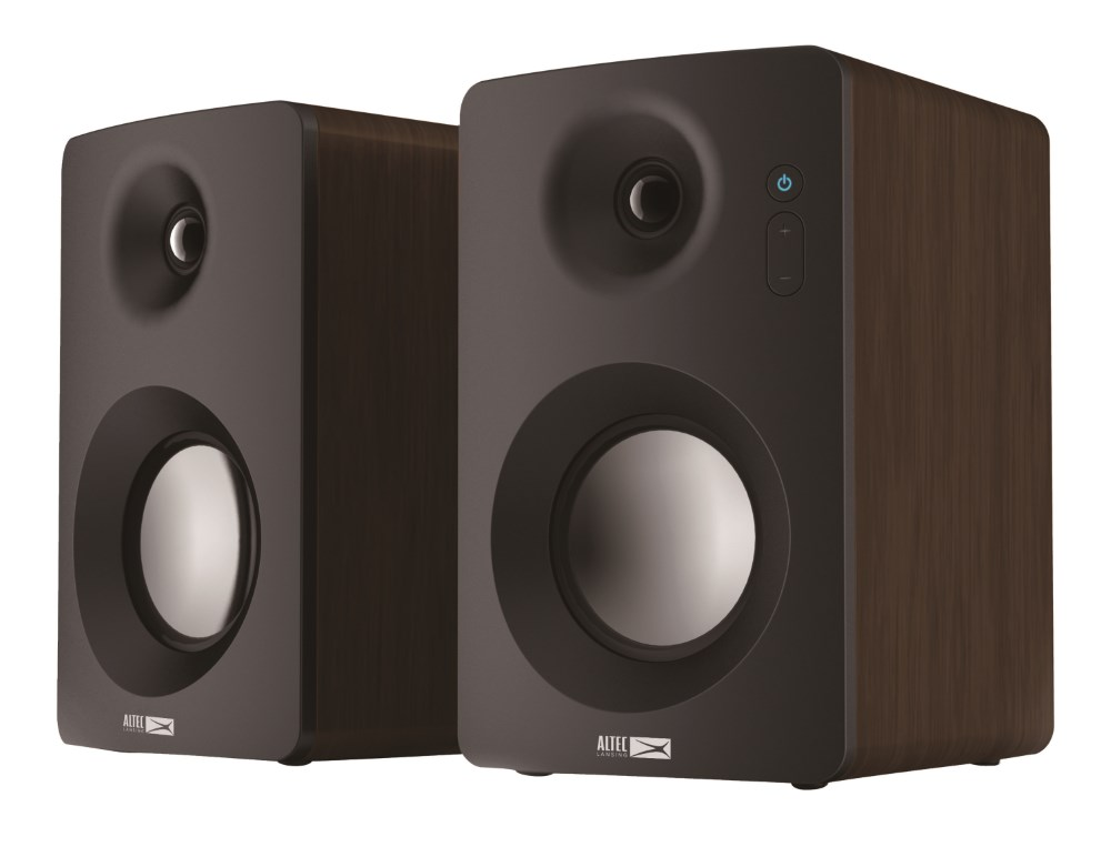 ALTEC LANSING ηχεία Rock, 2.0ch, 60W RMS, Bluetooth 3.0 & NFC, wood - ALTEC 21762