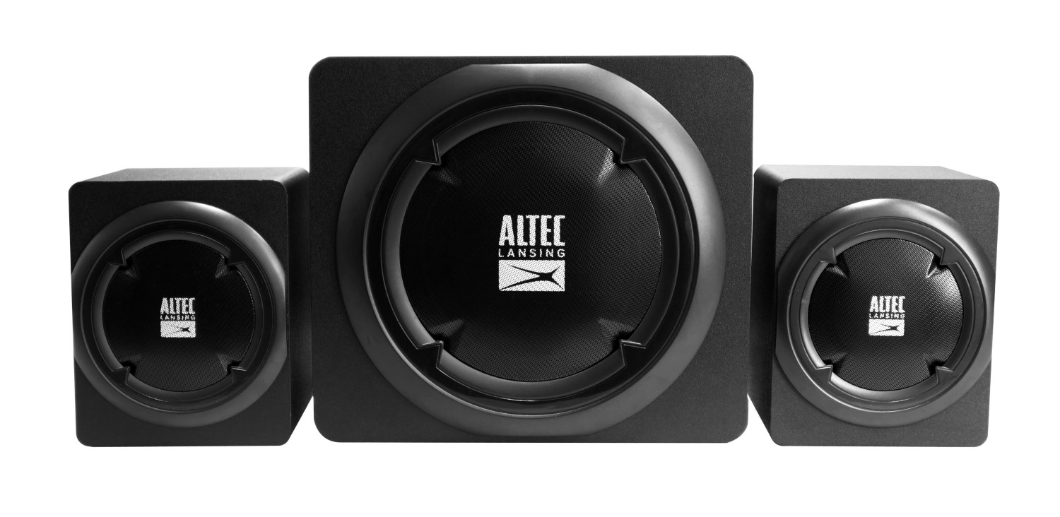 ALTEC LANSING ηχεία Helix, 2.1ch, 39W RMS, HD Audio, USB-SD, μαύρα - ALTEC 21732