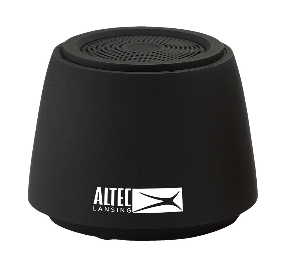 ALTEC LANSING Φορητό ηχείο Barrel AL-SNDQ401, 3W, Bluetooth, μαύρο - ALTEC LANSING 22944