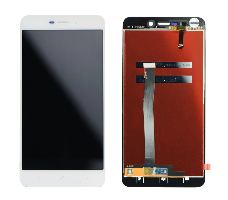 LCD Display & Touchscreen Digitizer για Xiaomi Redmi 4A Global, λευκό - UNBRANDED 18587