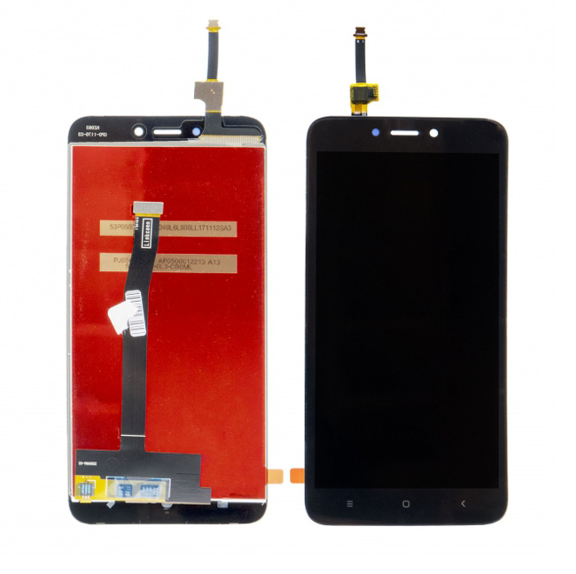 LCD & Touchscreen Digitizer για Xiaomi Redmi 4Χ Global, μαύρο - UNBRANDED 18473