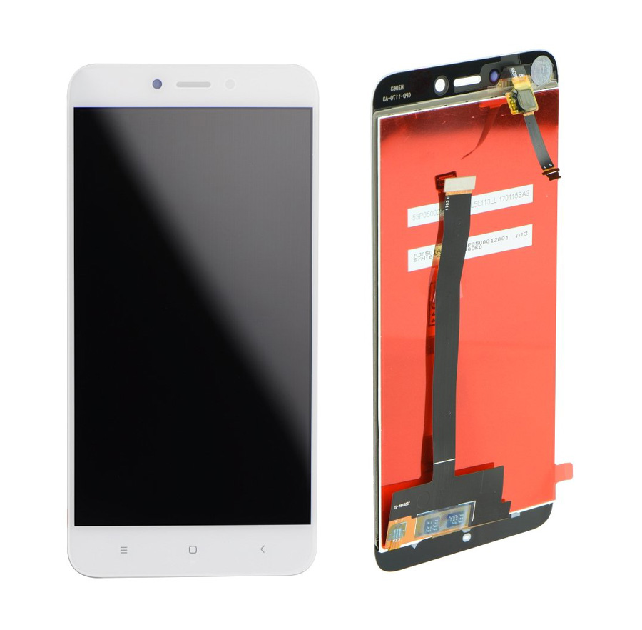 LCD & Touchscreen Digitizer για Xiaomi Redmi 4Χ Global, λευκό - UNBRANDED 18592