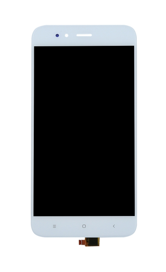 LCD & Touchscreen Digitizer για Xiaomi Mi A1, λευκό - UNBRANDED 19087