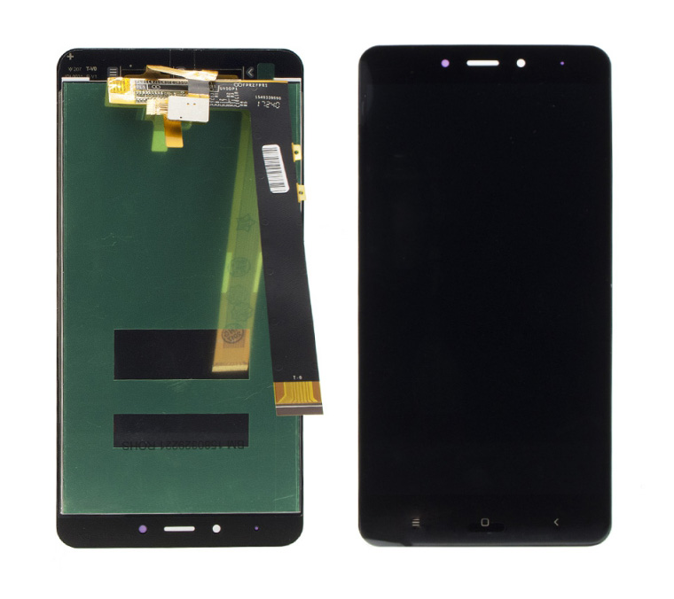 LCD & Touchscreen Digitizer για Xiaomi Redmi Νote 4 Mediatek, μαύρο - UNBRANDED 18474