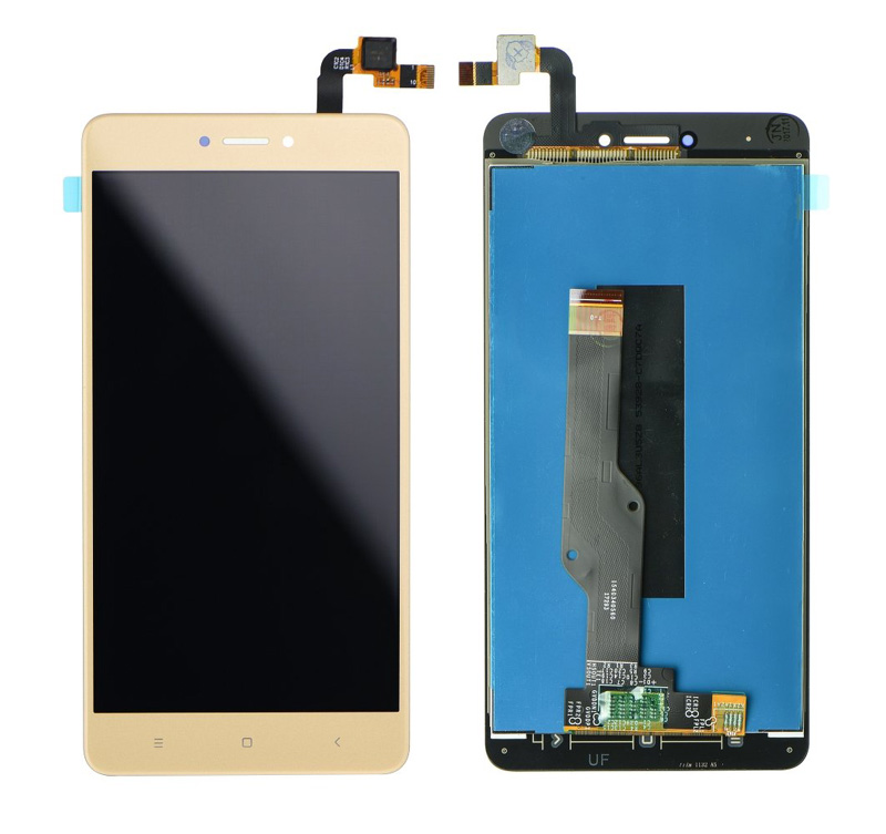 LCD & Touchscreen Digitizer για Xiaomi Redmi Note 4Χ Global, χρυσό - UNBRANDED 18595