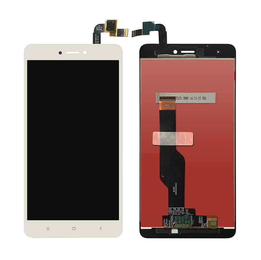 LCD & Touchscreen Digitizer για Xiaomi Redmi Note 4Χ Global, λευκό - UNBRANDED 18596