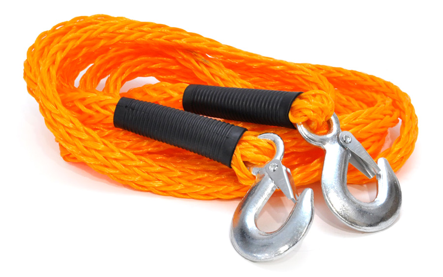 AMIO Ιμάντας ρυμούλκησης 01033, 4m, έως 3000kg, πορτοκαλί - AMIO 27267