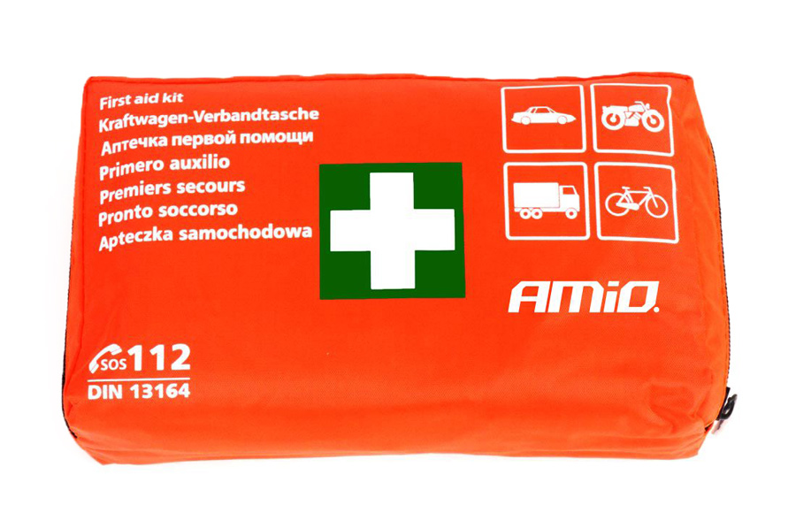 AMIO Σετ πρώτων βοηθειών 13164 για οχήματα, 39 τεμαχίων - AMIO 26193