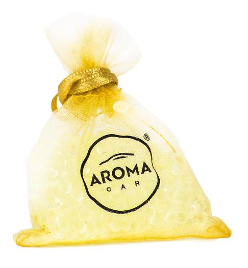 AROMA CAR αρωματικό αυτοκινήτου Prestige Bag 92513, Gold - AMIO 27282