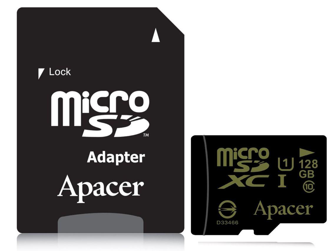 APACER Κάρτα Μνήμης Micro SDHC UHS-I 128GB, Class10 - APACER 8693