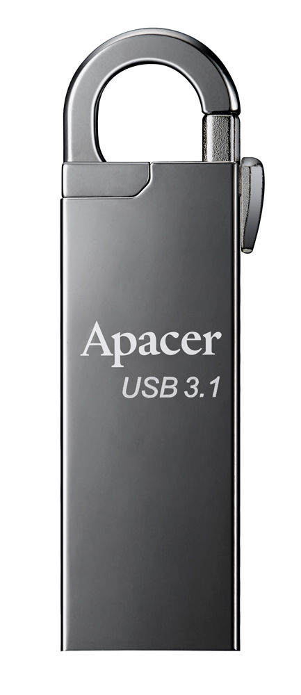 APACER USB Flash Drive AH15A, USB 3.1 Gen1, 16GB, Ashy - APACER 14112