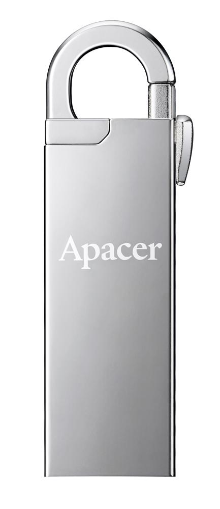 APACER USB Flash Drive AH13A, USB 2.0, 32GB, Silver - APACER 14109