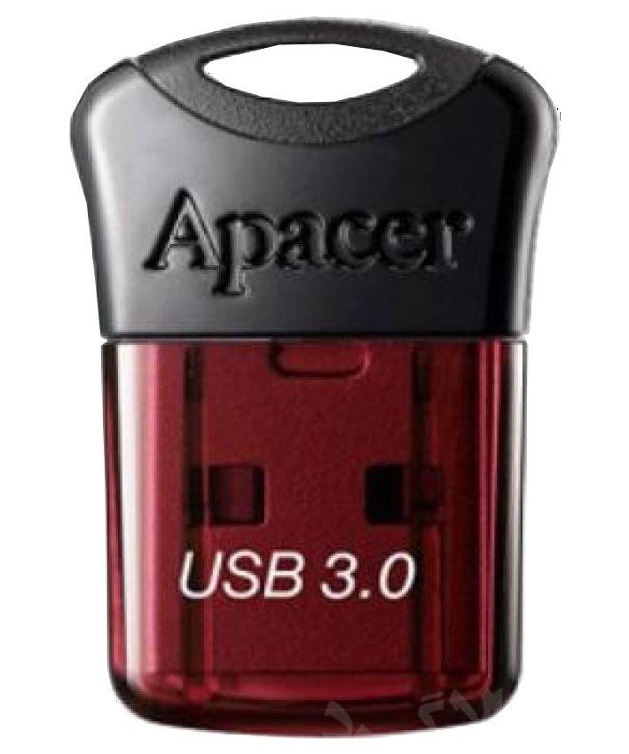 APACER USB Flash Drive AH157, USB 3.0, 64GB, Red - APACER 8704